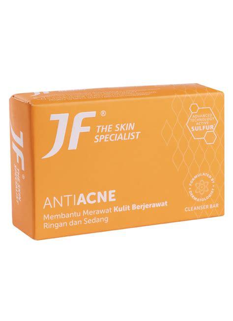 Jf Sulfur Acne Skin Care Soap 90gr by Jf Sabun Mandi Sulfur 10 Acne Treatment Bar 90g