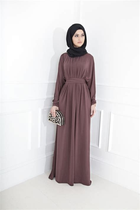 Long Dress Muslim Women   simple look long dress for muslim girls hijabiworld