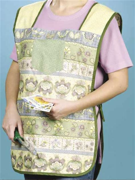 free pattern garden apron reversible garden apron