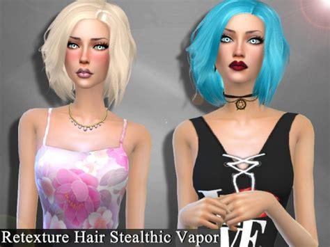 stealthic vapor female hair the sims resource sims 4 hairs the sims resource stealthic vapor hair