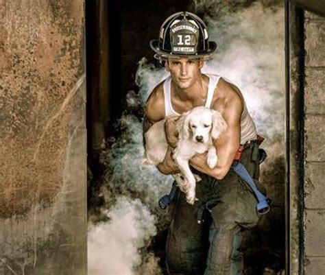 firemen with puppies the and sweet firefighters with puppies calendar