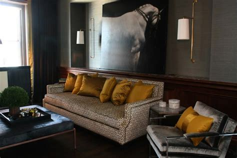 gold and grey living room strike gold eclectic living home