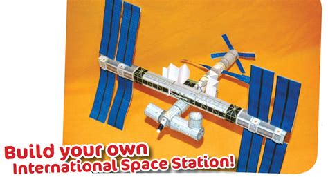 how to make space satellite paper model jung suwon kids club