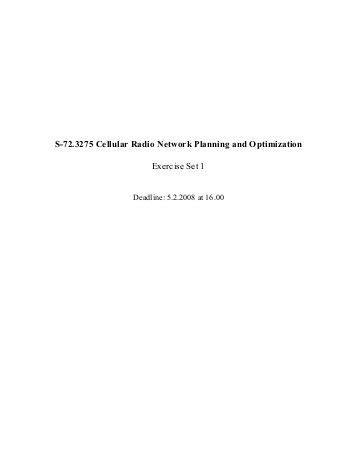 a joint optimization of antenna parameters in a cellular network