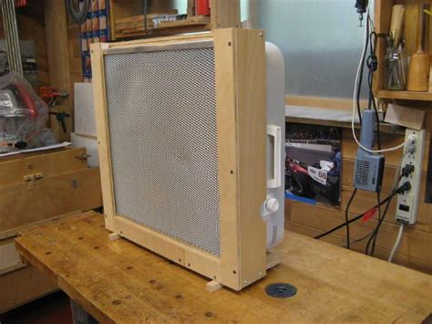box fan filter woodworking box fan air filter dust collection
