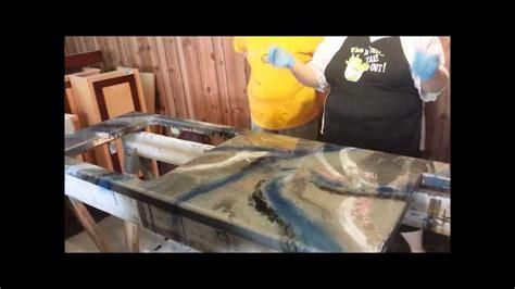Diy Kitchen Design Ideas epoxy countertop youtube