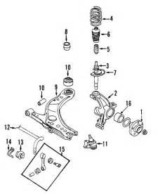 Audi Tt 2001 Parts Parts 174 Audi Tt Quattro Suspension Components Oem Parts