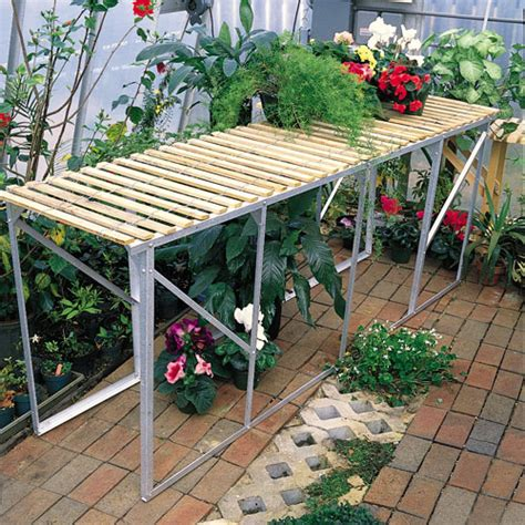 orchid bench orchid light duty benches turner greenhouses