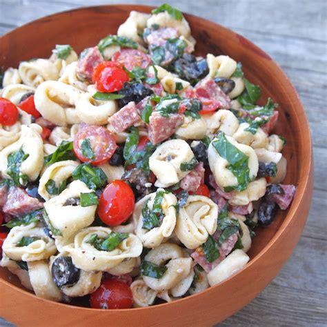 tortellini pasta salad tortellini salad recipe dishmaps