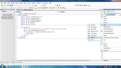 tutorial vb net tutorial vb net aplikasi penjualan part 2 relainc andro