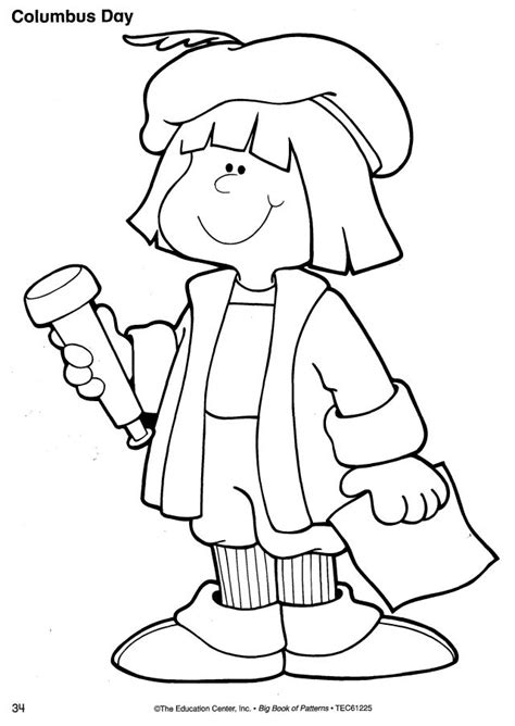 christopher columbus coloring pages free christopher