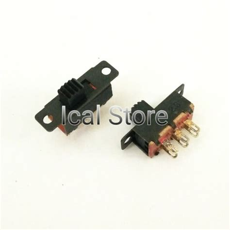 Saklar Switch On Kotak Besar Hijau 4 Pin switch saklar geser on 6 kaki ical store ical store