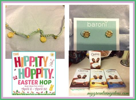 Green Giveaways Ideas - my green living ideas hippity easter giveaway