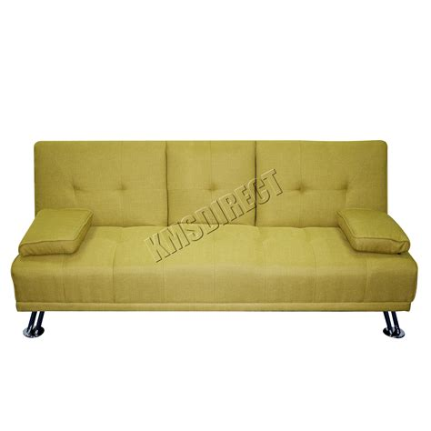 Green Sleeper Sofa Foxhunter Fabric Manhattan Sofa Bed Recliner 3 Seater Modern Luxury Design Green