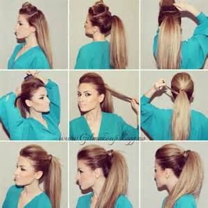 how to do grande high ponytail hairstyles how to make the perfect party ponytail alldaychic