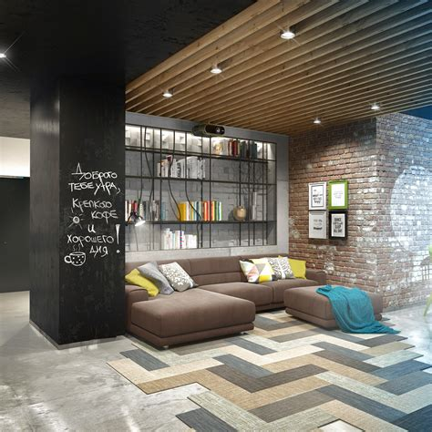 apartment designer three creative lofts fit for stylish artists