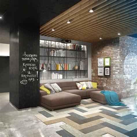 loft design by three creative lofts fit for stylish artists