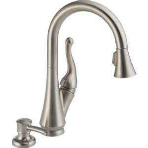 delta pull down kitchen faucet delta faucet 16968 sssd dst talbott single handle pull