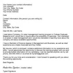 Cover Letter Letter Of Interest by Sle Letter Of Interest Format