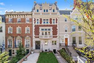 row houses for sale in dc historic 7 9m beaux arts townhome in embassy row reveals