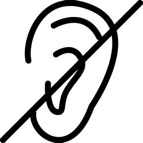 how to deaf deaf free icons