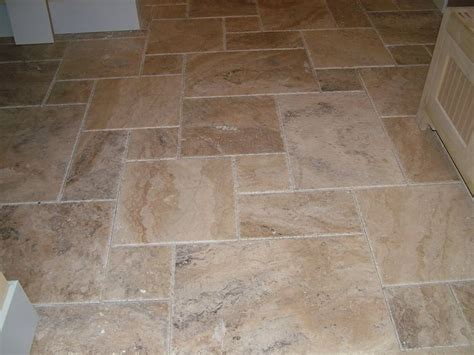 slate flooring in versailles pattern anyone done it