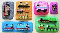 Thomas & Friends are on 6 colors Sand