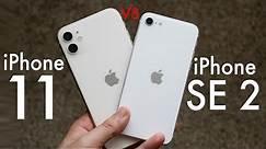 iPhone SE (2020) Vs iPhone 11! (Comparison) (Review)