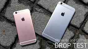 iPhone 6S and 6S Plus Drop Test!