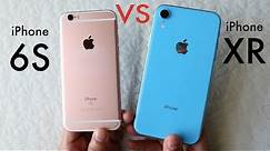 iPHONE XR Vs iPHONE 6S! (Should You Upgrade?) (Speed Comparison) (Review)