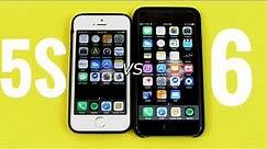 iPhone 5S vs iPhone 6 iOS 9.3.4