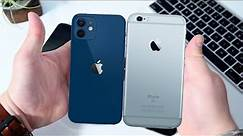 iPhone 12 Mini VS iPhone 6s Speed Test Comparison