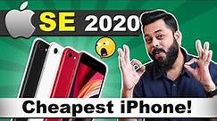 iPhone SE 2020 Launched ⚡⚡⚡ Should You Buy It? My Honest Opinion..