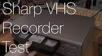 Sharp VC MH75HM VHS Player VCR | IMNC