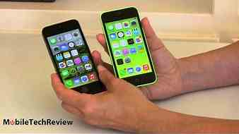 iPhone 5s vs iPhone 5c Comparison Smackdown