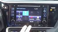 2017-2019 Toyota Corolla Factory Entune GPS Navigation Radio Upgrade - Easy Plug & Play Install!