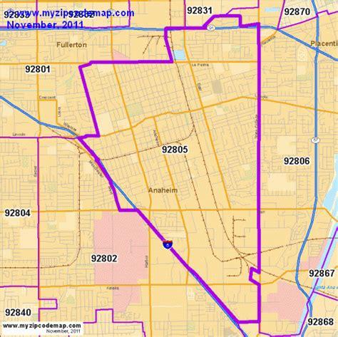 92805 Zip Map