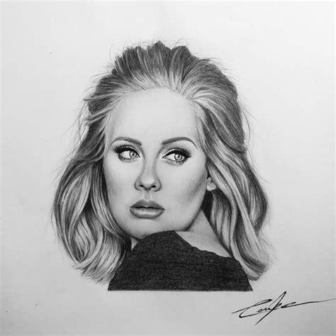 Adele Drawing