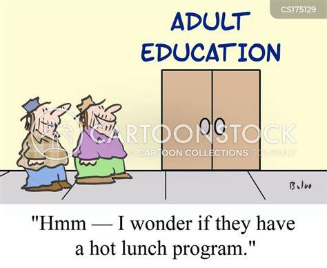 Adult Education Cartoons