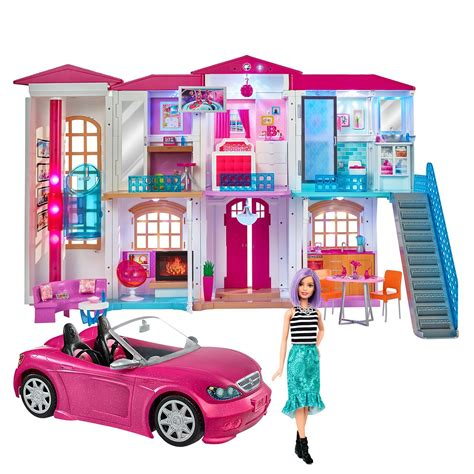 Barbie Houses and Vehicles Toys