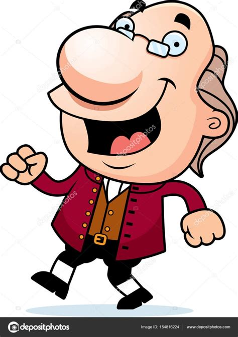 Benjamin Franklin Cartoon