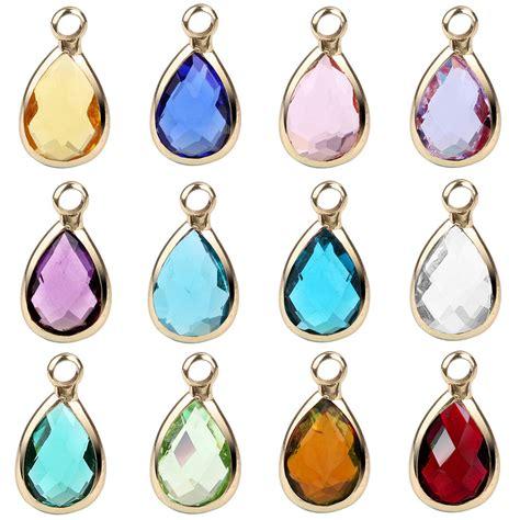 Birthstone Pendants for Jewelry Making