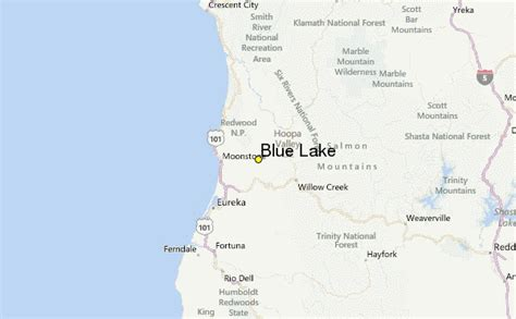 Blue Lake California Weather