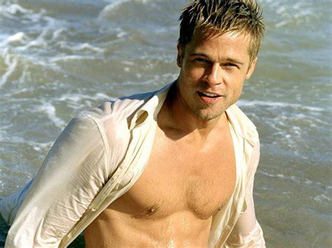 Brad Pitt Beach