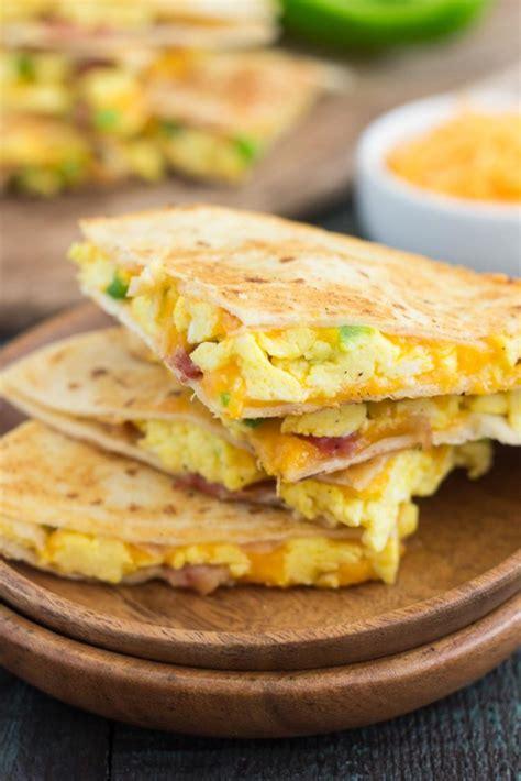 Breakfast Quesadilla Recipes
