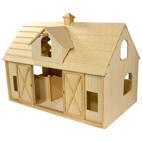 Galerry breyer deluxe wood barn with cupola
