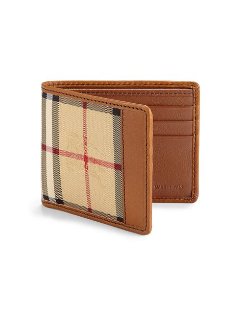 Burberry Men's Wallets On Sale