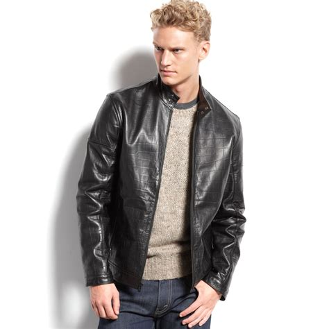 Calvin Klein Men's Moto Jacket