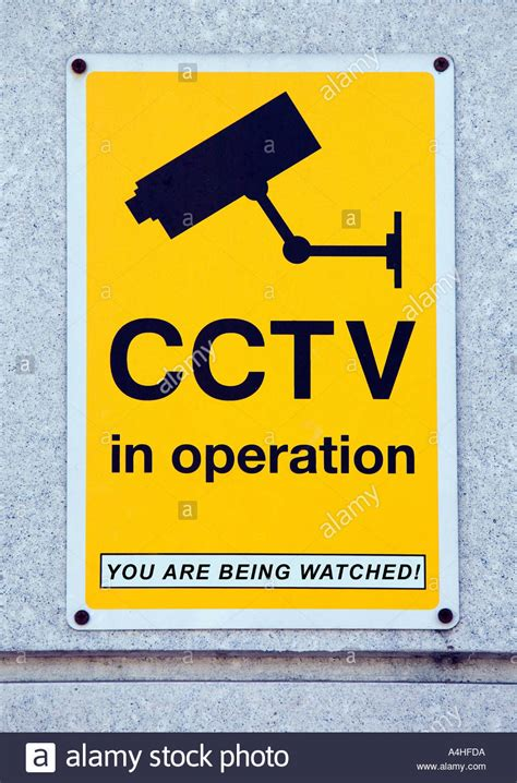 Closed Circuit Security Camera Sign