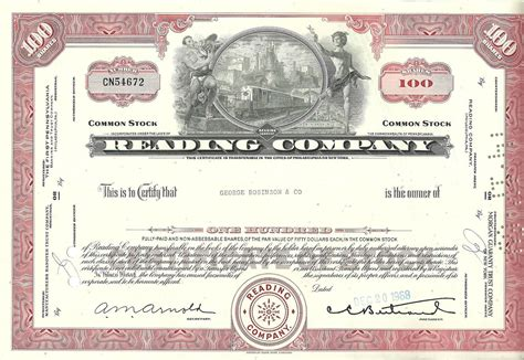 Dis Old Stock Certificates